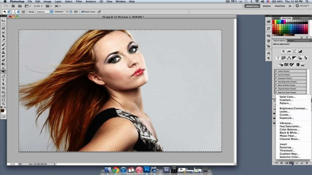 D. How to Change Hair Color in Photoshop, Part 2 Promo Image