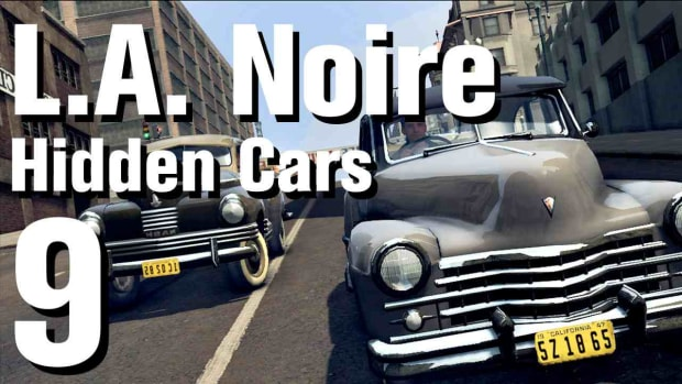 "I. L.A. Noire Walkthrough Hidden Cars 09: ""Duesenberg Walker Coupe"" Promo Image"
