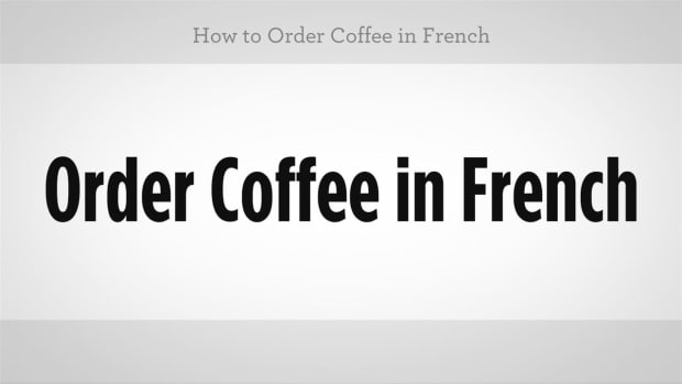 ZO. How to Order Coffee in French Promo Image