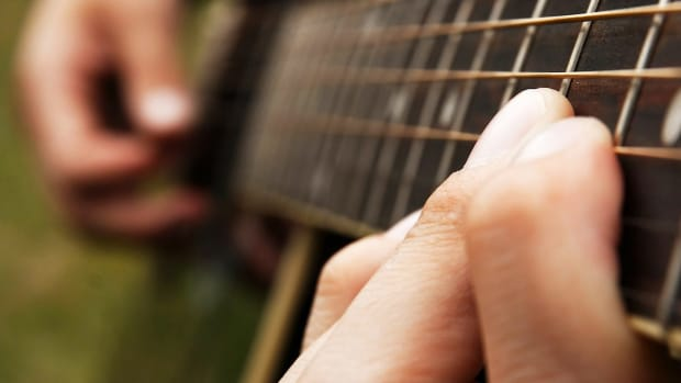 I. How to Play a Hammer-On in Fingerstyle Guitar Promo Image
