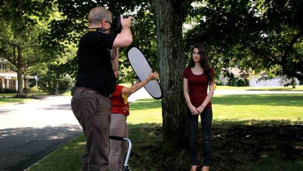 G. How to Pick a Location for an Outdoor Portrait Promo Image