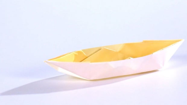 ZA. How to Make an Origami Boat Promo Image