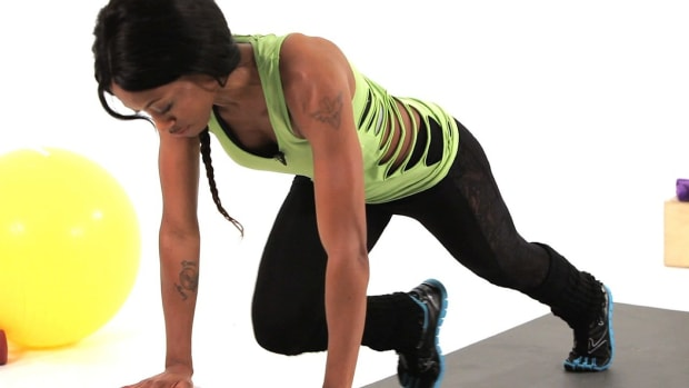 Z. How to Do a Mountain Climber Plyometric Exercise Promo Image