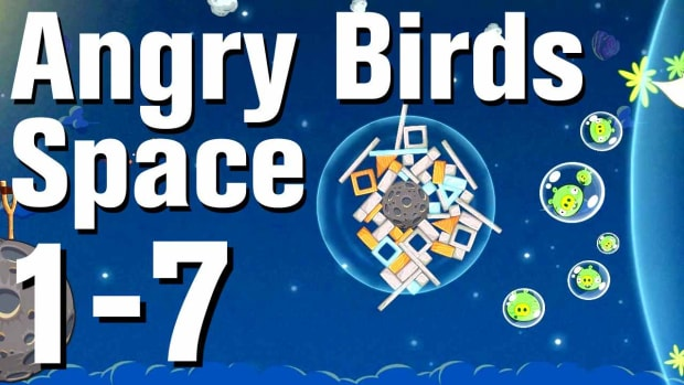 G. Angry Birds: Space Walkthrough Level 1-7 Promo Image