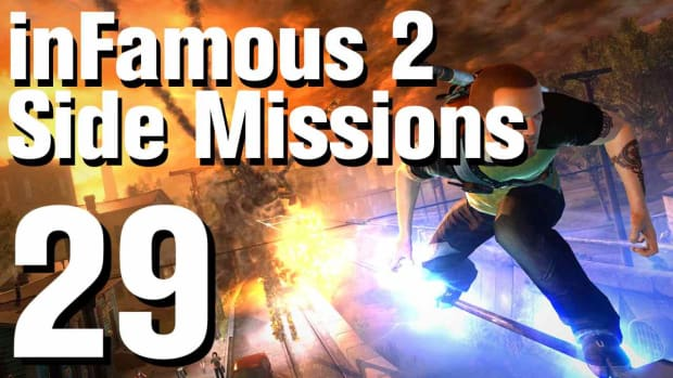 ZZW. inFamous 2 Walkthrough Side Missions Part 29: Grave Danger Promo Image