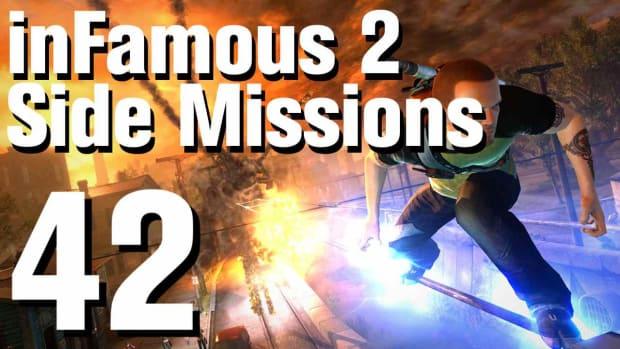 ZZZJ. inFamous 2 Walkthrough Side Missions Part 42: Enemy Surveillance - Flood Town Promo Image