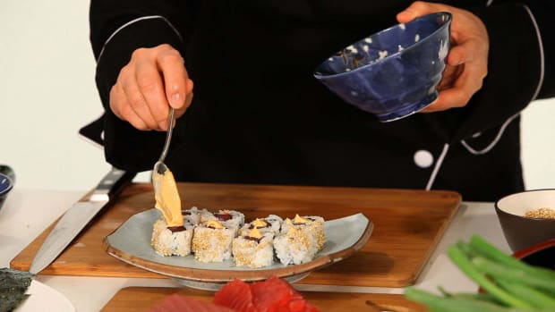 D. How to Make Spicy Mayo for Sushi Promo Image