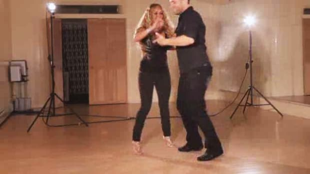 K. How to Do a Copa with Inside Turn Styled Salsa Step Promo Image