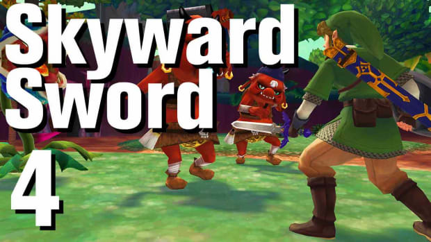 D. Zelda: Skyward Sword Walkthrough Part 4 - Skyloft Promo Image