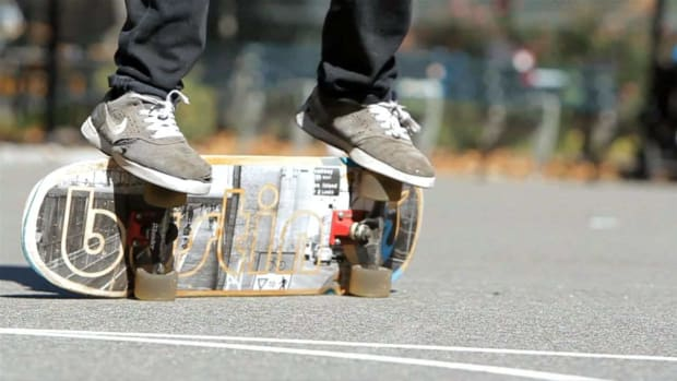 ZE. How to Do a Cheater's Primo on a Skateboard Promo Image