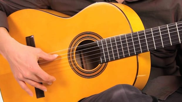 N. Flamenco Guitar Techniques: How to Play Pulgar with Golpe Promo Image