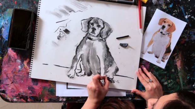 G. How to Sketch a Dog Promo Image