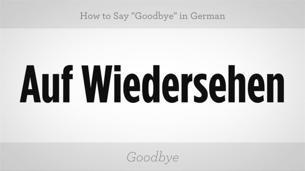 "D. How to Say ""Goodbye"" in German Promo Image"