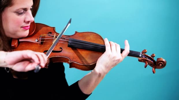 ZP. How to Play a G String on Violin Promo Image
