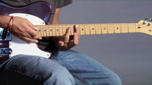 ZZZL. How to Play a G Major Barre Chord on Guitar Promo Image
