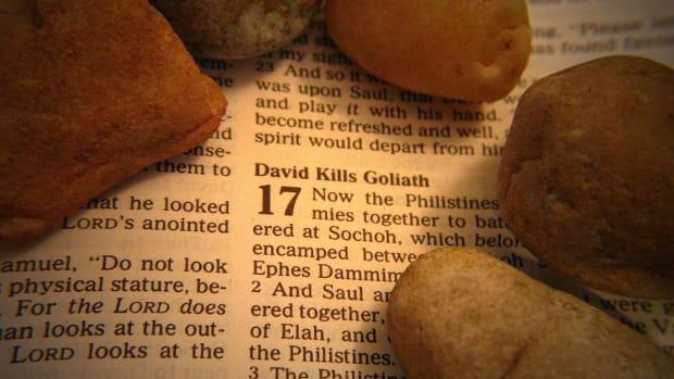 G. David & Goliath Bible Story Promo Image