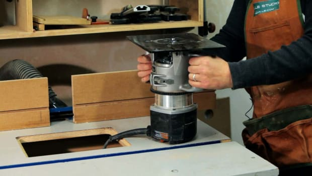 O. How to Use a Router Table for Woodworking Promo Image