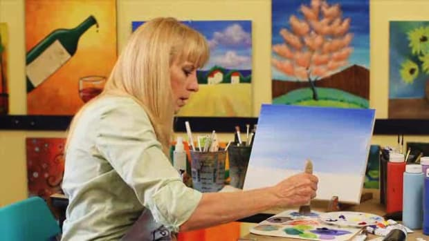 V. How to Paint the Sky Using Acrylic Paint Promo Image