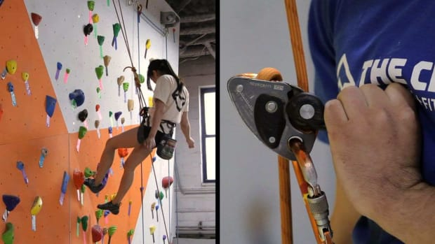 I. How to Lower a Climber in Top-Rope Belay Promo Image