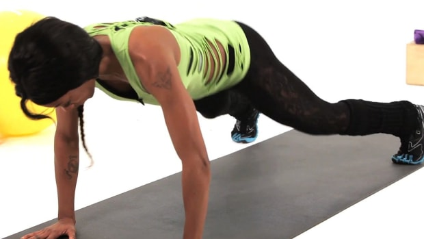 X. How to Do a Plank Hop Plyometric Exercise Promo Image