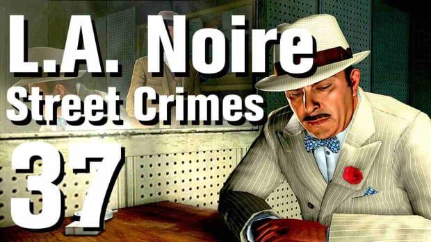 """ZK. L.A. Noire Walkthrough Street Crimes 37: """"Paper Sack Holdup"""" Promo Image"""