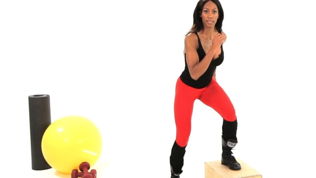 ZK. How to Do Intense Leg Plyometric Exercises Promo Image