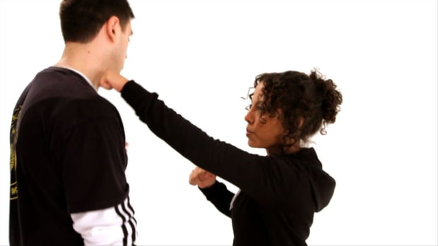 J. How to Attack an Assailant's Neck in Self-Defense Promo Image