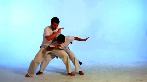 V. How to Do the Vingativa in Capoeira Promo Image