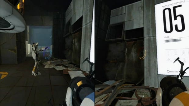 ZZZA. Portal 2 Co-op Walkthrough / Course 3 - Part 5 - Room 05/08 Promo Image