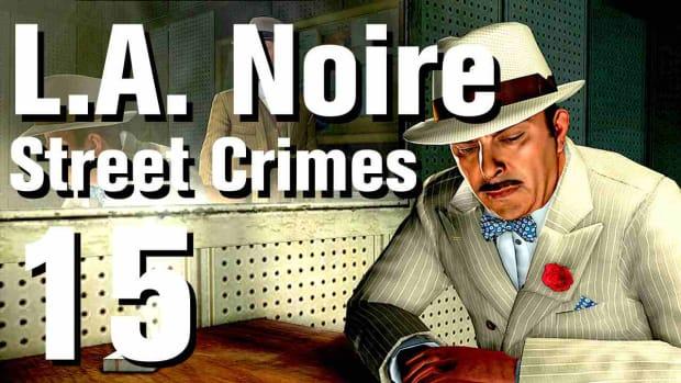 "O. L.A. Noire Walkthrough Street Crimes 15: ""Canned Fish"" Promo Image"