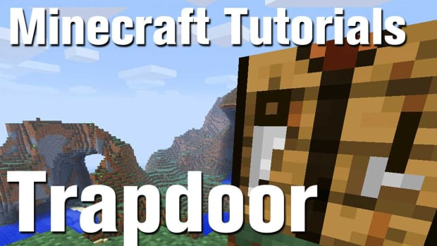 ZZF. Minecraft Tutorial: How to Make a Trapdoor in Minecraft Promo Image