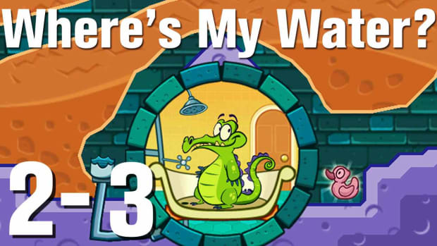 W. Where's My Water Walkthrough Level 2-3 Promo Image