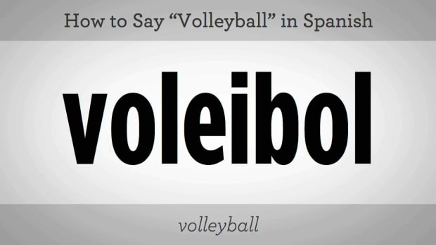 "P. How to Say ""Volleyball"" in Spanish Promo Image"