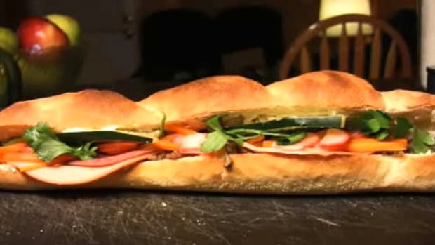 A. How to Make a Banh Mi Sandwich Promo Image