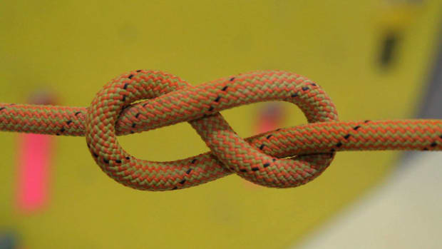 F. How to Tie Figure 8 Follow-Through Knot for Indoor Climbing Promo Image
