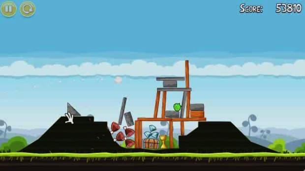 K. Angry Birds Level 4-11 Walkthrough Promo Image