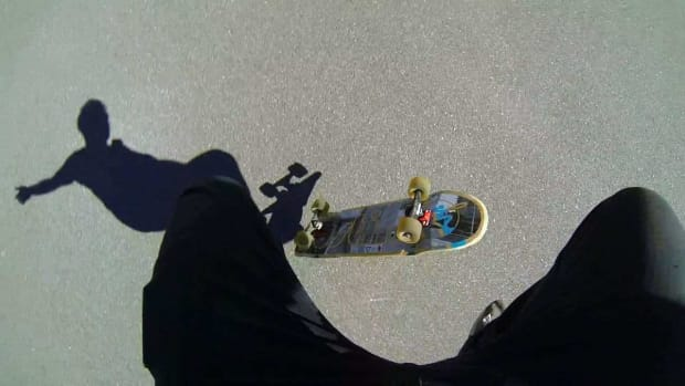 T. How to Kickflip on a Skateboard Promo Image