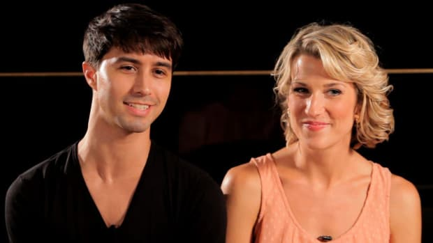 ZT. How to Ballroom Dance with Aaron Mitchum & Kristina Reese Promo Image