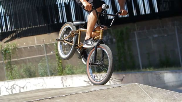 U. How to Do a Footjam on a BMX Promo Image