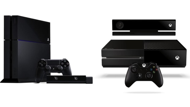 ZD. PlayStation 4 vs. Xbox One Promo Image
