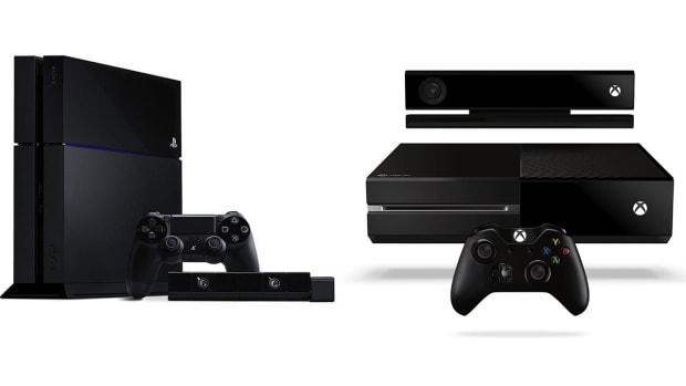 ZD. PlayStation 4 vs. Xbox One Promo Image