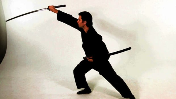 ZF. How to Do a Tate Nuki Katana Draw Strike in Sword Fighting Promo Image