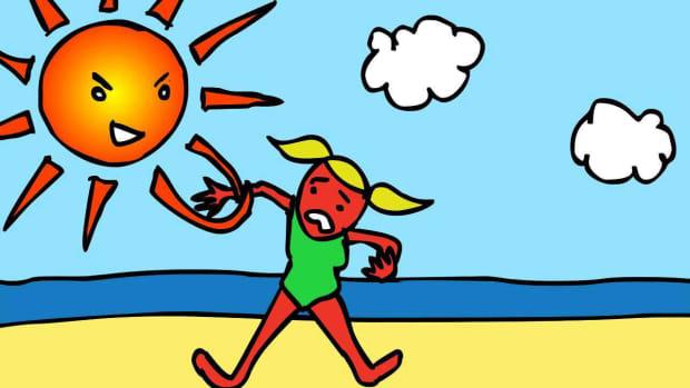 J. How to Treat a Sunburn Promo Image