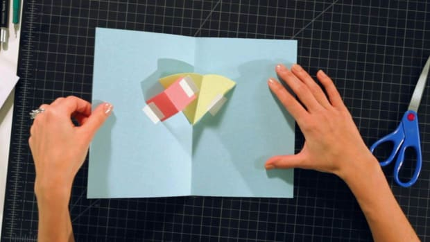 H. How to Make Layers on a V-Fold on a Pop-Up Card Promo Image