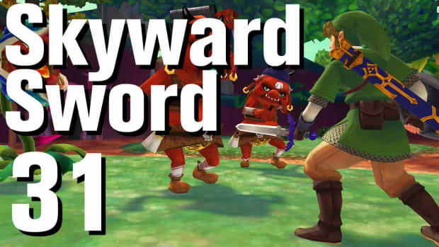 ZE. Zelda: Skyward Sword Walkthrough Part 31 - Eldin Volcano Promo Image