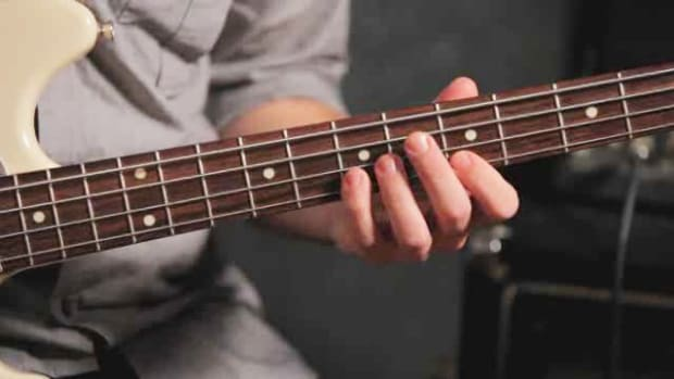 ZZA. How to Play Pentatonic Scale Exercises on Bass Guitar Promo Image