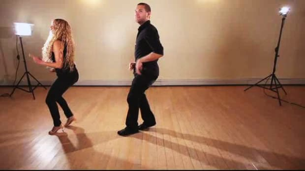 Q. How to Do a Front Double Basic Salsa Step Promo Image