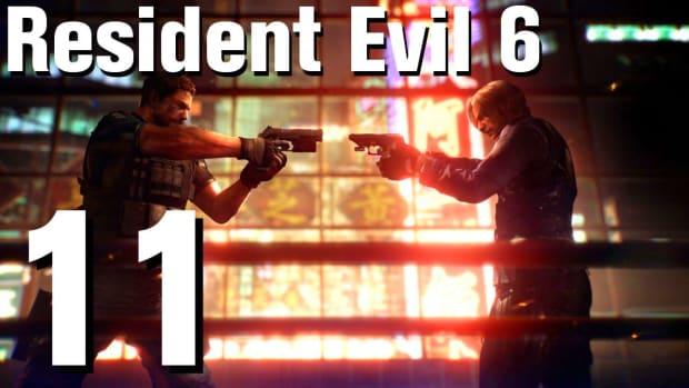 K. Resident Evil 6 Walkthrough Part 11 - Chapter 1 Promo Image