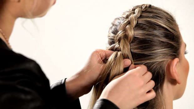 L. How to Do a Reverse French Braid Promo Image
