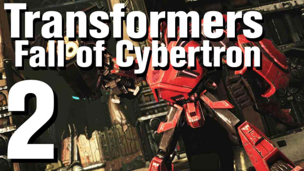 B. Transformers Fall of Cybertron Walkthrough Part 2 - Chapter 2 Promo Image